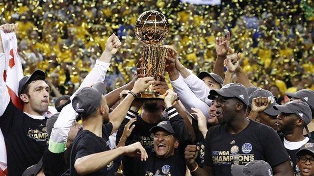 NBA'in en büyüğü Golden State