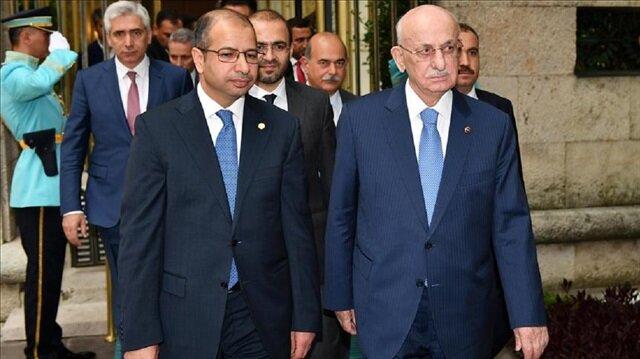   رئيس البرلمان التركي يؤكد ضرورة بقاء العراق موحدا