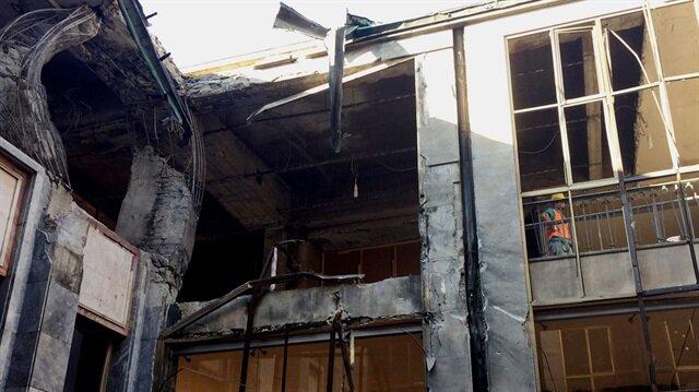 15 Temmuz gecesi darbeciler Meclis'e 6 bomba atmıştı.