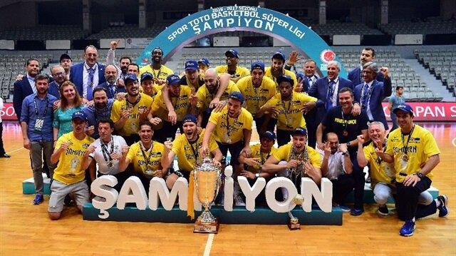 Fenerbahçe'nin potada rüya gibi sezonu