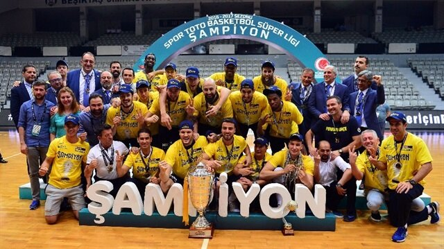 Fenerbahçe wins the Turkish basketball league title