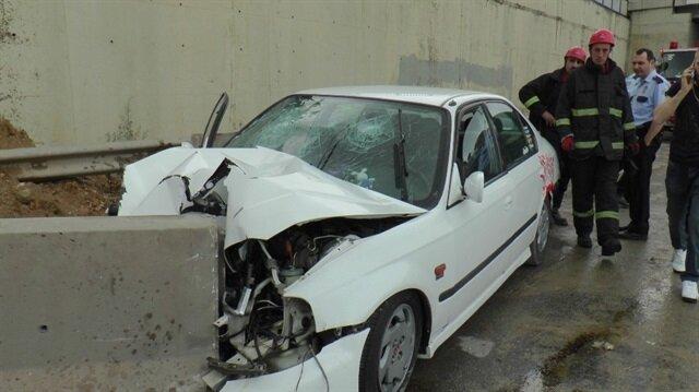 Kocaeli'nin Gebze Haber: Trafik kazası; 4 yaralı