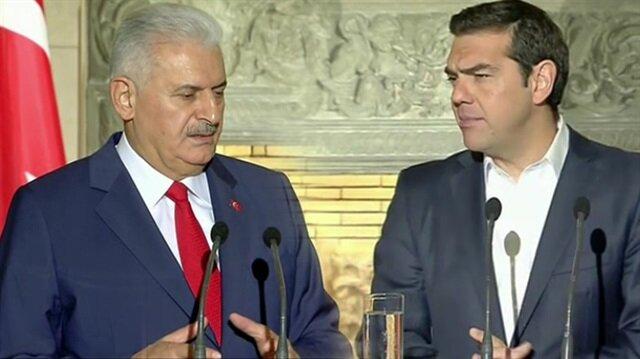Başbakan Yıldırım, Çipras ile görüştü