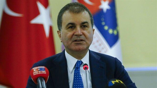 وزير الاتحاد الأوروبي التركي يدين الهجوم الإرهابي قرب مسجد بلندن