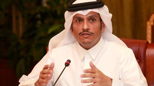 Katar Dışişleri Bakanı Abdurrahman Al Thani
