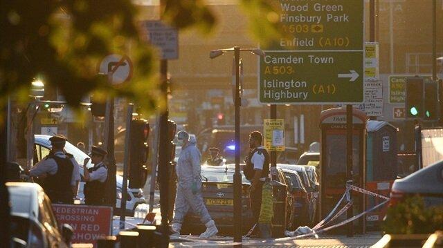 Londra saldırısından görüntüler