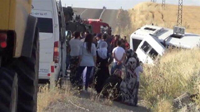Askeri midibüs ile minibüs çarpıştı: 2 ölü