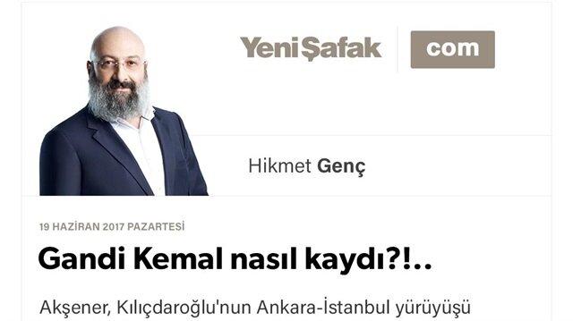 Gandi Kemal nasıl kaydı?!..