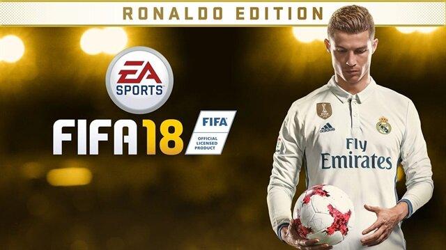 FIFA 18'in kapak yıldızı olarak bu yıl Cristiano Ronaldo ile anlaşma sağlanmıştı.