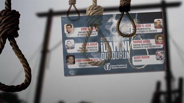 Mısır'da 6 öğrenciye idam cezası verildi