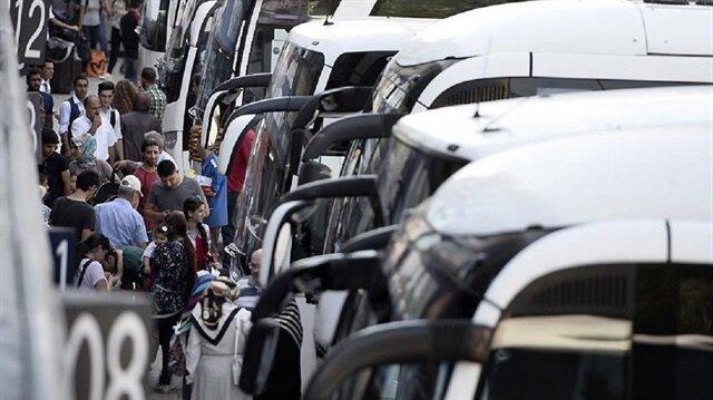 '600 bin kişi İstanbul'dan ayrılacak'