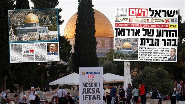 Türkiye'nin Kudüs'e yardımı İsrail'i rahatsız etti
