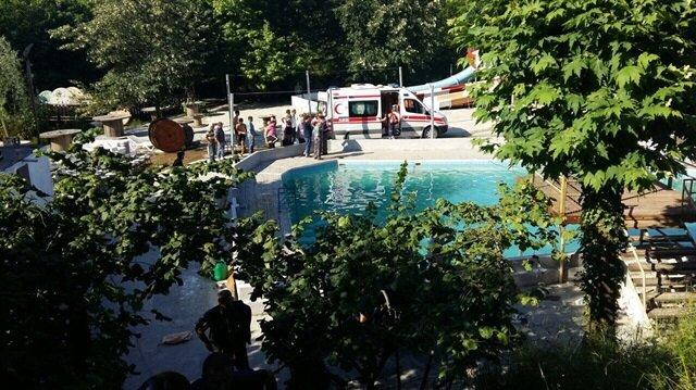 Sakarya'da havuzda elektrik faciası: 5 ölü