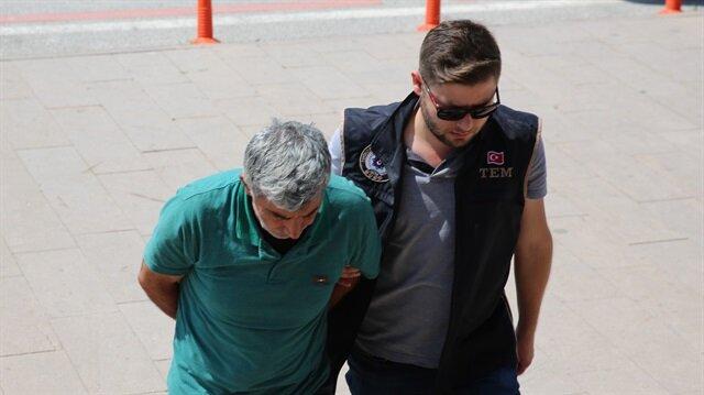 Edirne'de yakalanan PKK üyesi tutuklandı.