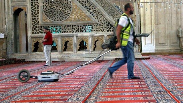 Selimiye Camisi'nin röntgeni çekiliyor