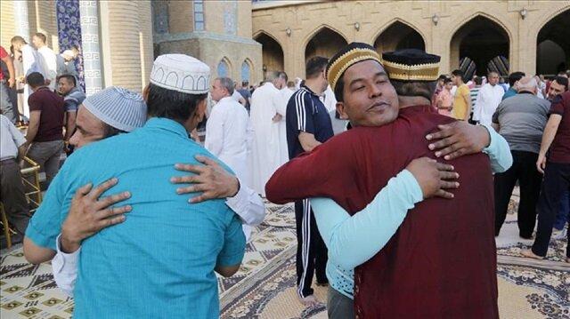 Muslims across Arab world celebrate Eid al-Fitr holiday