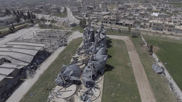 US saw chemical weapons activity at Syrian base struck in April