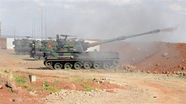 TSK Afrin'deki YPG mevzilerini bombaladı