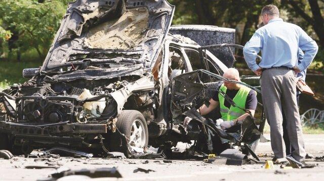 Kiev'de albaya bomba