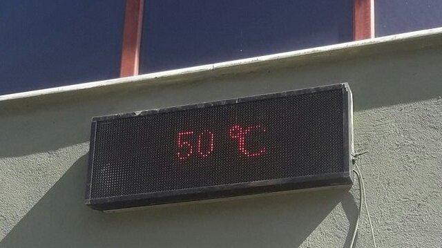 Bilecik'te sıcaklık 50 dereceyi gördü