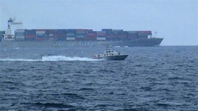 Greek coastguard opens fire on Turkish cargo ship
