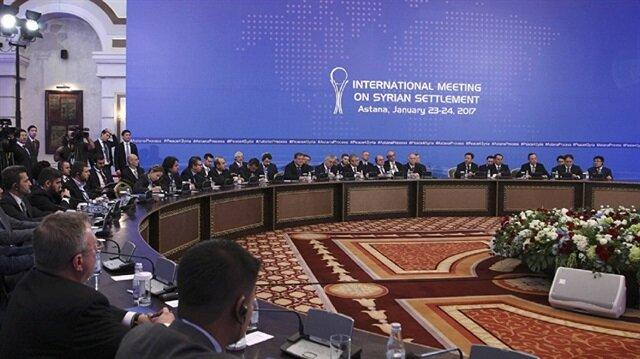 5th round of Syria talks begin in Astana