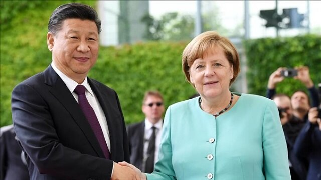 Xi Jinping meets Merkel before G20 summit