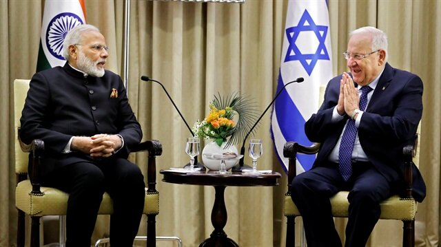 PM Modi arrives in Israel for 3-Day Visit