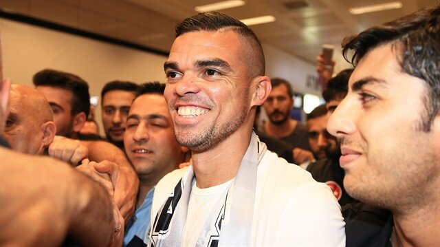 Besiktas new transfer Pepe in Istanbul