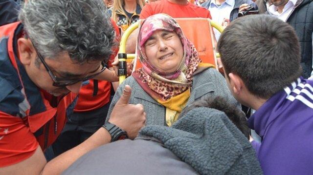 Vefat eden şehit eşi Rebia Dereli'nin sağlık sorunlarını olduğu öğrenildi.