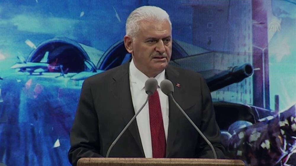 Başbakan Yıldırım, Beştepe'deki anma programında konuştu.