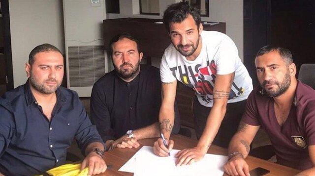 Engin Baytar Malatyaspor USA ile bir yıllık sözleşmeye imza attı.