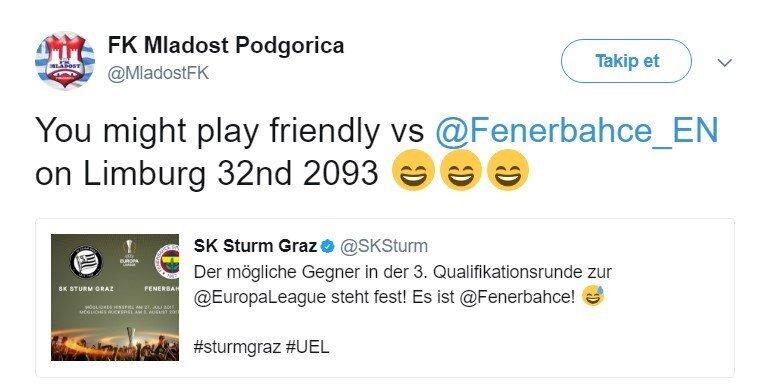 Kraadağ ekibi, Sturm Graz'a anında yanıt verdi.
