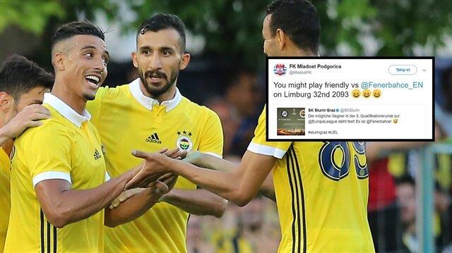 Fenerbahçe'nin rakipleri sosyal medyada atıştı.
