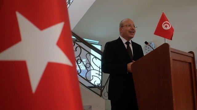 السفير التركي بتونس، عمر فاروق دوغان