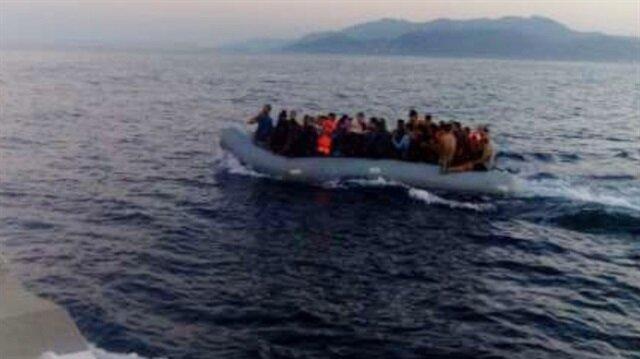 Kuşadası Körfezi'nde 101 göçmen durduruldu