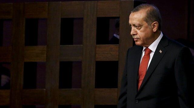 Cumhurbaşkanı Recep Tayyip Erdoğan, TBMM'deki 15 Temmuz Demokrasi ve Milli Birlik Günü Anma Töreni'ne katıldı.