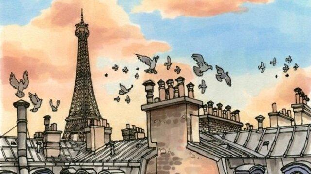 Bir gezginin gözünden şehir illüstrasyonları