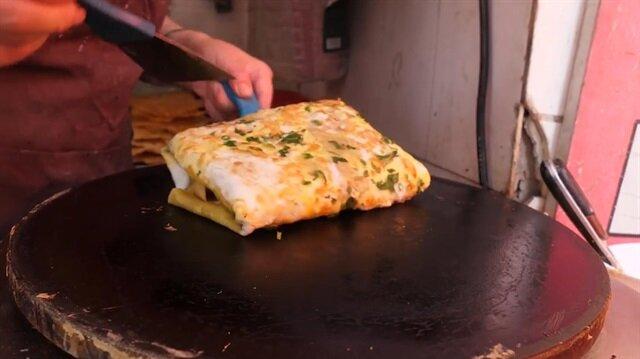 Çin usulü yumurta sandviç!