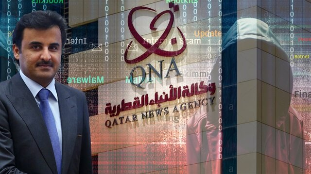 Katar Resmi Haber ajansı QNA'da Katar Emiri Temim bin Hamad El-Sani'ye ait olduğu iddia edilen bazı beyanatlar yayınlanmıştı.