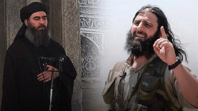 DEAŞ'lı teröristler Ebubekir El-Bağdadi ve Celaleddin Tunisi