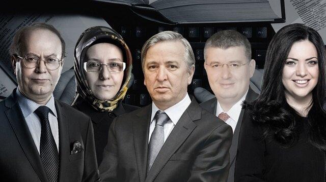 Yusuf Kaplan, Fatma Barbarosoğlu, Aydın Ünal,  Mehmet Acet ve Merve Şebnem Oruç