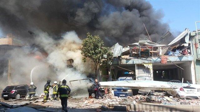 Samsun'daki yangın kontrol altına alındı!