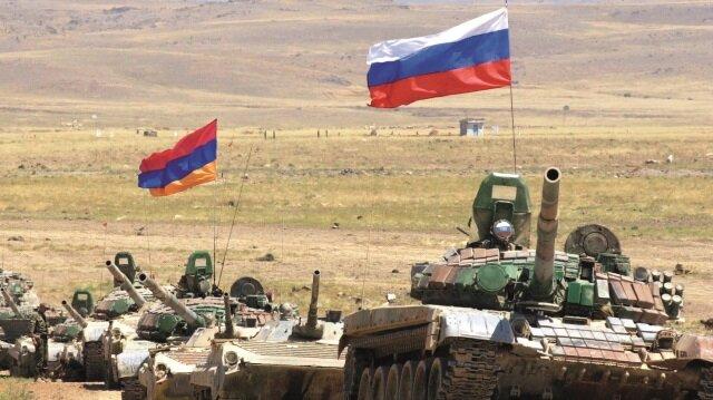 Rusya ve Ermenistan ortak ordu kurdu