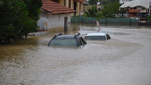 İstanbul'da yağmurdan en çok Silivri etkilendi