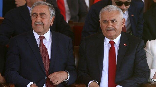 Yıldırım renews Ankara's support for Turkish Cypriots