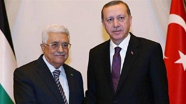 Erdoğan discusses al-Aqsa issue with Palestinian President Abbas
