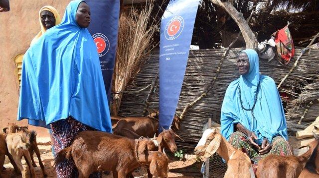 TİKA'dan Nijerli kadınlara destek