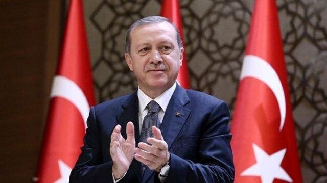 أردوغان يهنئ المصارع التركي