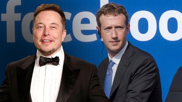 Mark Zuckerberg ve Elon Musk birbirine girdi